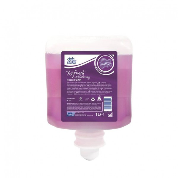 DEB Refresh Relax FOAM 6 x 1l
